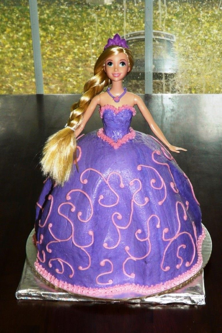 Rapunzel Cakes Designs Ideas Rapunzel Doll Cake Cake Ideas