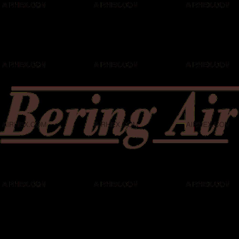 Square and rectangular transparent PNG logo of Bering Air