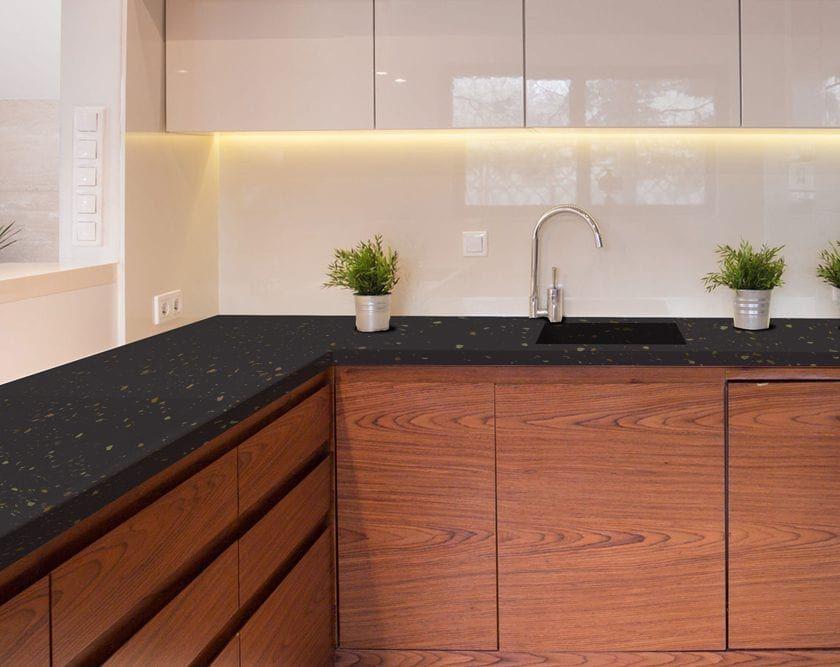 Licorice Beyond Paint Popular Kitchen Colors Countertops