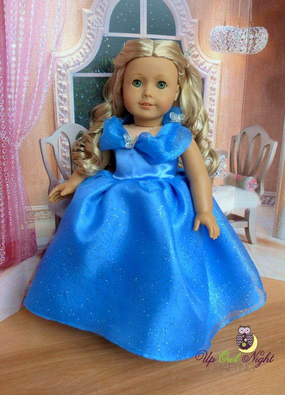Doll Cinderella Butterfly Dress American Made For Your
