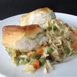 Melanie's Chicken Biscuits Casserole