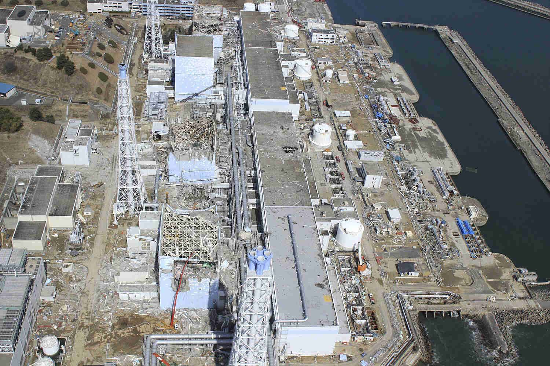 Fukushima Daiichi Nuclear Power Plant Disaster Aftermath Image 1