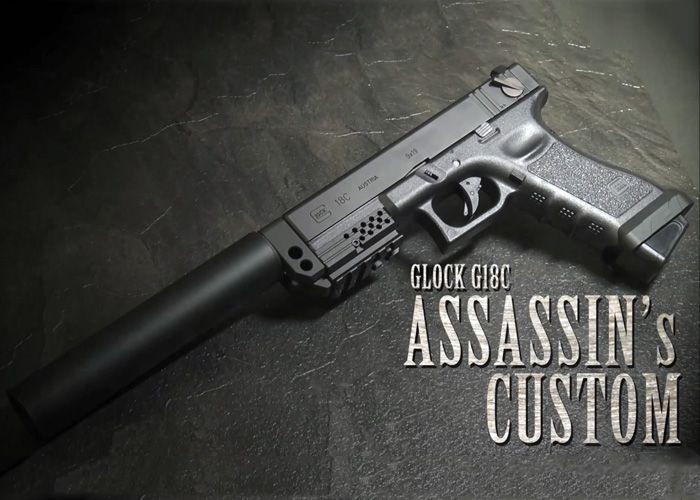 Glock 18c Airsoft Gas Blowback