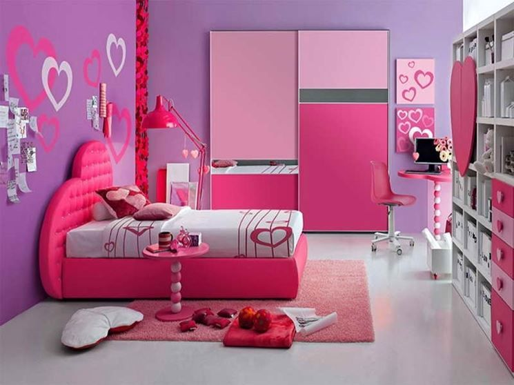 Arredare camerette per bambine | CAMERETTA GAIA | Pinterest | Bed ...
