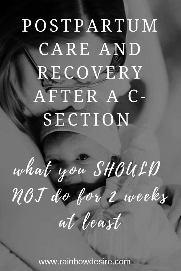 Post C Section Care And Recovery Family And Parenting Group Board