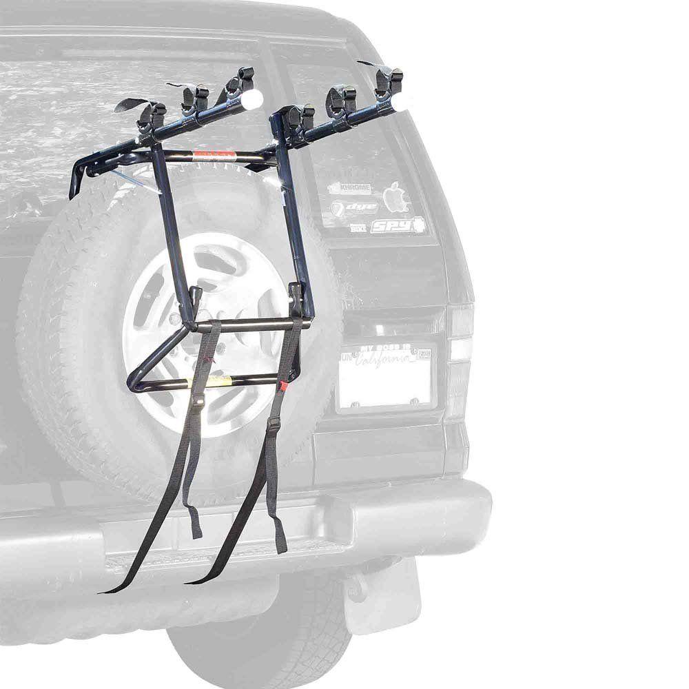 Allen Sports Deluxe 3Bike Spare Tire Mount Rack Spare