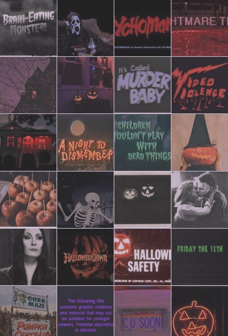 Halloween montage #halloweenaesthetic