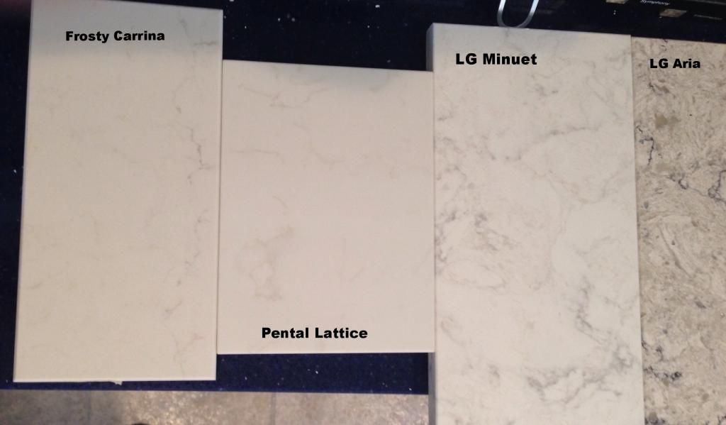 Hello! I Am About To Start A Kitchen Remodel And Iu0027m Looking For An  Alternative To Marble For My Island. I Came Across A Slab For The LG Viatera  Minuet.