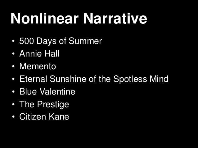 Eternal Sunshine Narrative Structure Google Search Essay Memento