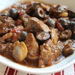 Crockpot Mediterranean Beef Stew by SeeAimeeCook