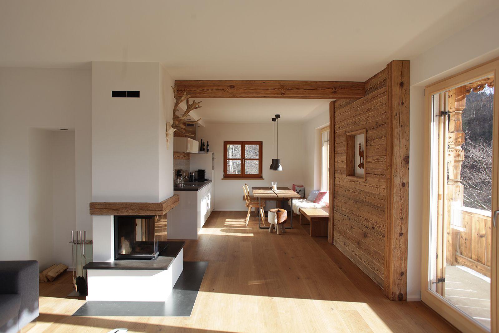 Homepage andreas erlacher architekt chalet altholz for Haus bauen architekt