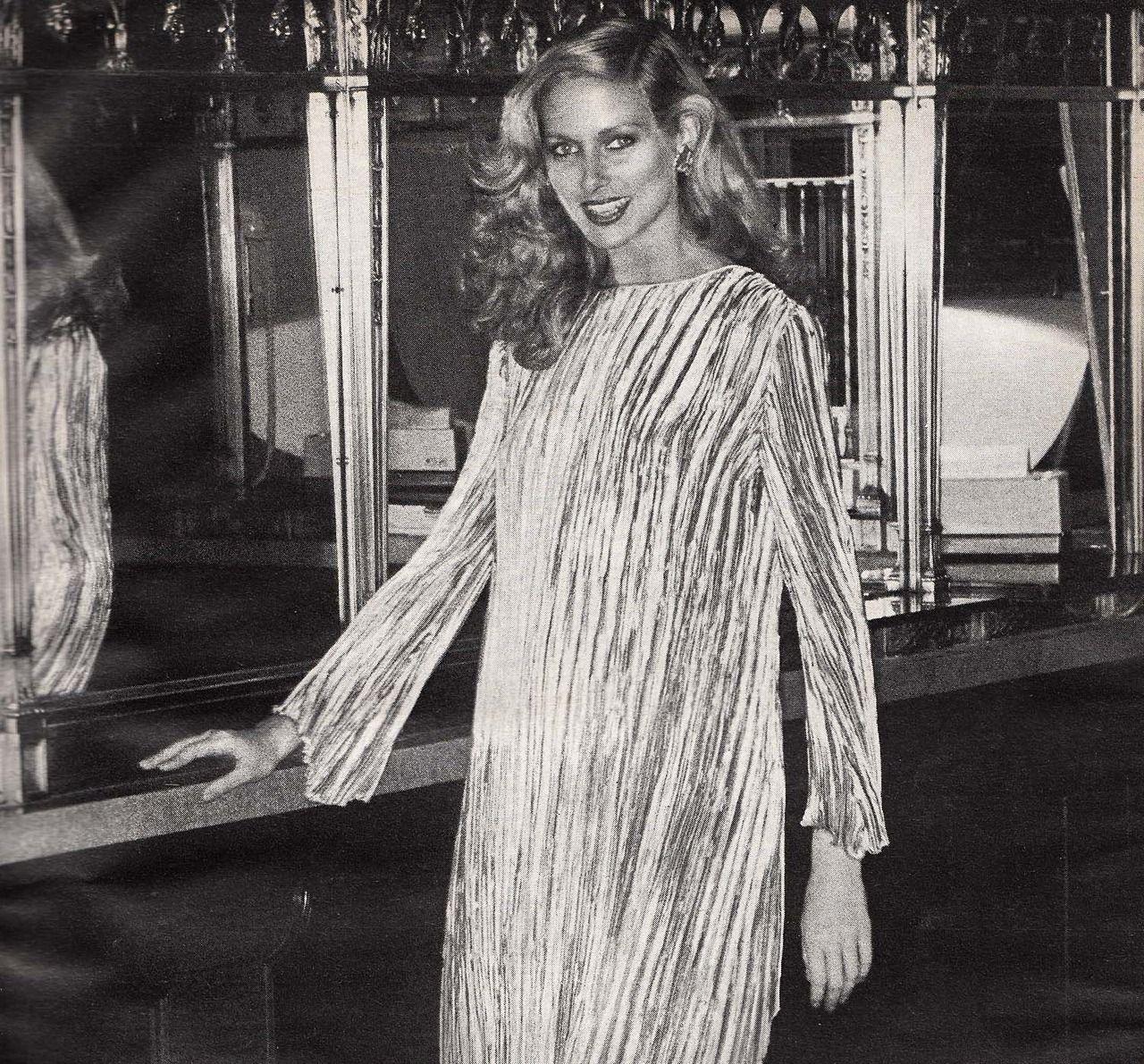 Mary McFadden,  Vogue - January 1978