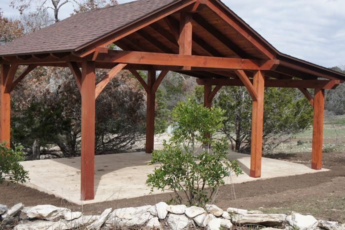 Backyard Pavilion Ideas il wood shelter pavilion Find This Pin And More On Backyard