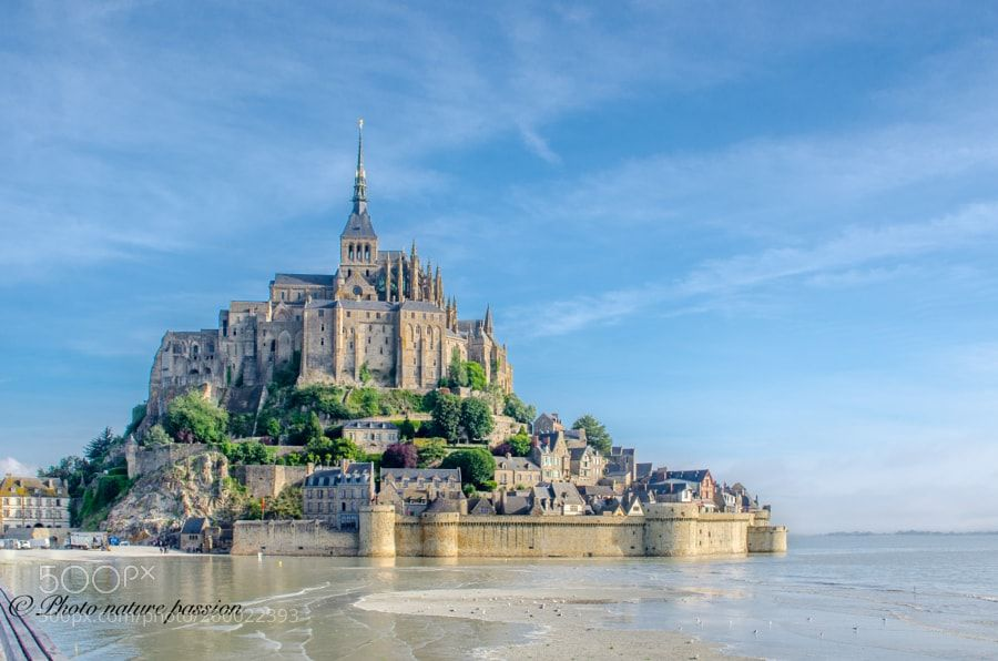Mont St Michel abbey by Photonaturepassion