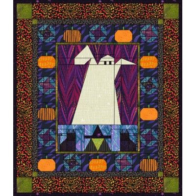 Happy Haunting   Cat quilt patterns, Ghost pumpkin and Witch cat : quilt design wizard - Adamdwight.com