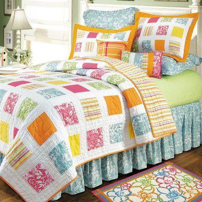 C & F Enterprises Kauai Quilt Size: Twin