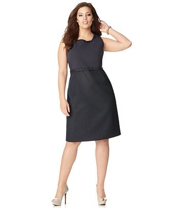 b9bfe38f617 Tahari Woman Plus Size Dress