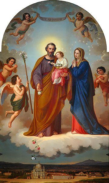 San Jose Tambien Estuvo En El Milagro Del Sol De Fatima Y Este Es
