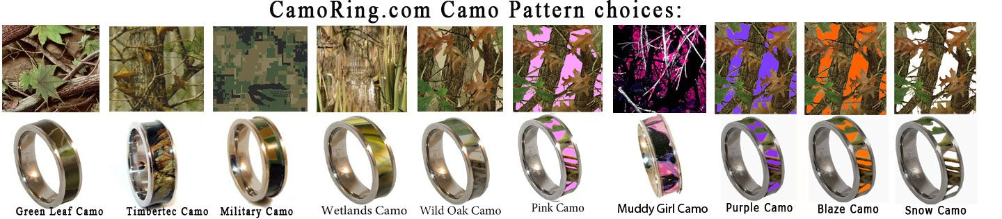 Incroyable 5mm Titanium Tension Set Pink Cubic Zirconia Realtree Camo Ring Engagement  Wedding Band #Affiliate   Rings   Pinterest   Camo And Ring
