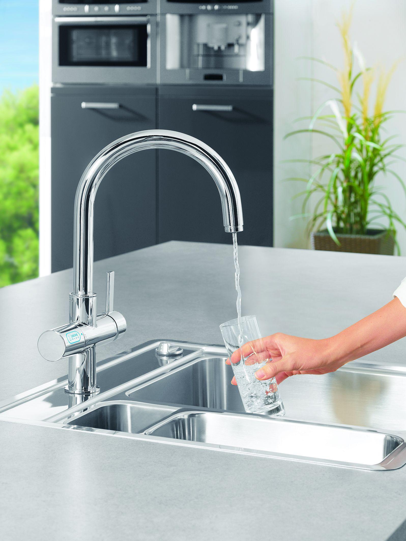 GROHE Blue ® : The pure refreshment. | My dream kitchen | Pinterest ...
