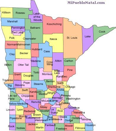 Minnesota county map maybe useful 1 day pinterest minnesota minnesota county map publicscrutiny Image collections