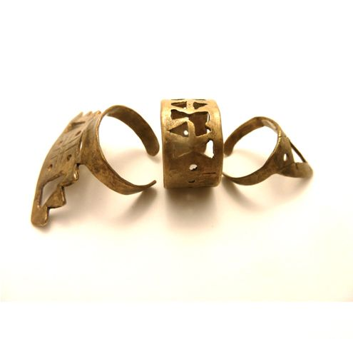 Totem Pole ring set from October Anniversary