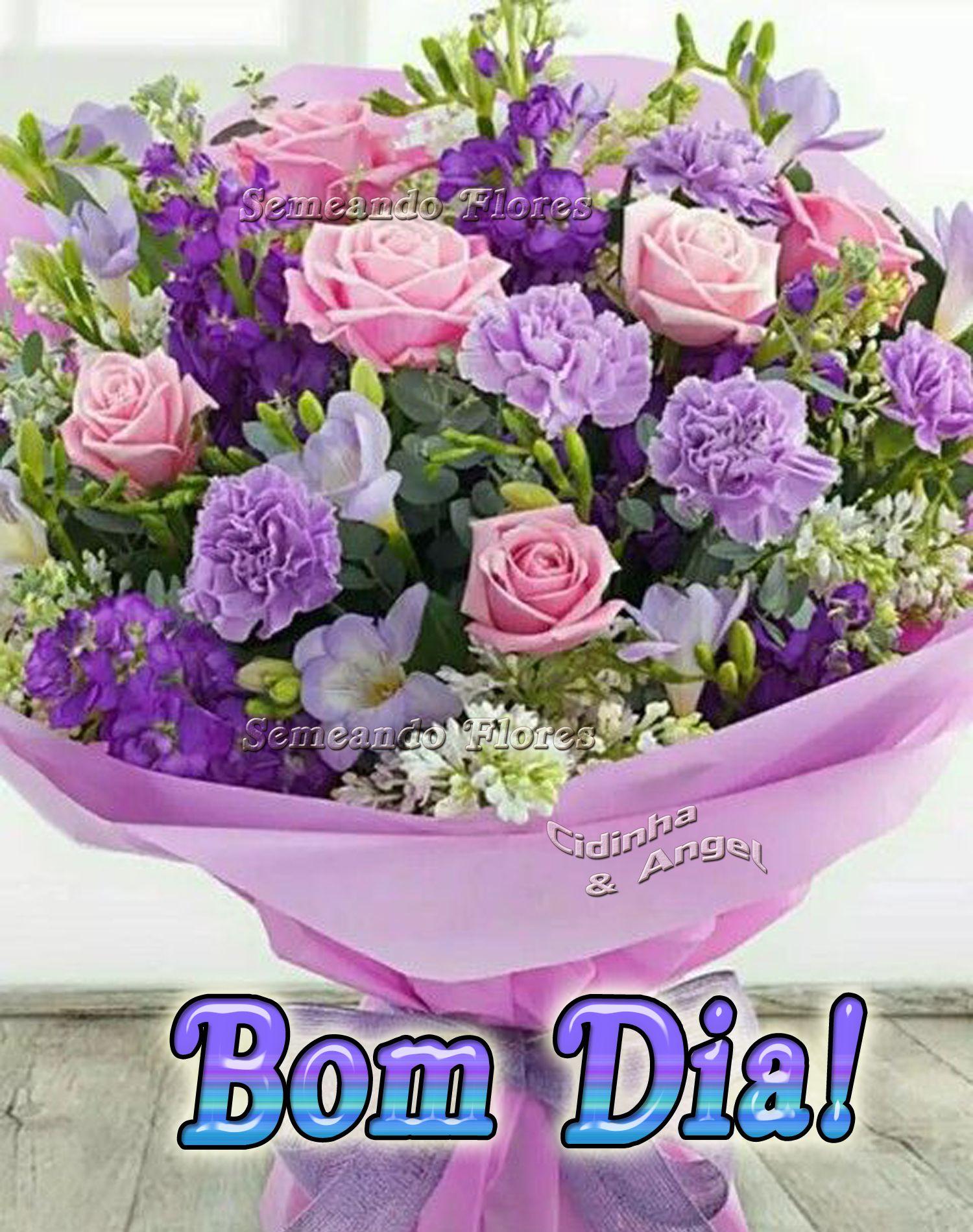 Pin De Luisinha Palma Em Flores Com Imagens Mensagen De Bom