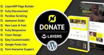 Donate – Nonprofit WordPress LayersWP Theme
