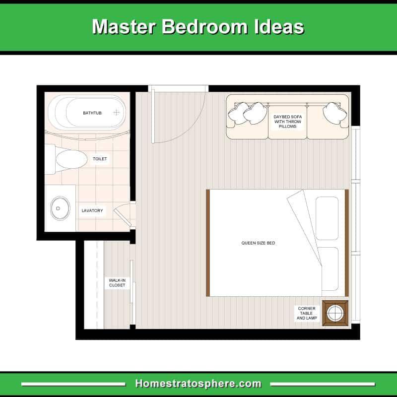Wonderful Bedroom Floor Plans 6 Pattern In 2020 Master Bedroom Plans Bedroom Flooring Bedroom Floor Plans