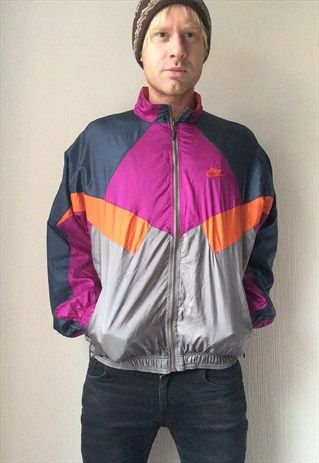 Vintage Nike Premier Jacket Shell Bomber Retro Rave Medium Jackets Vintage Nike Vintage Jacket