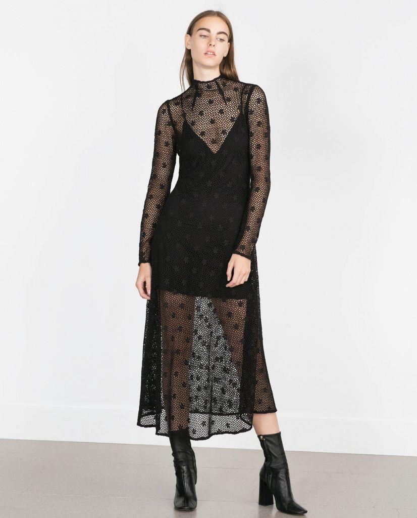 New yorker robe noir