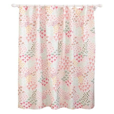 floral shower curtain pillowfort target done