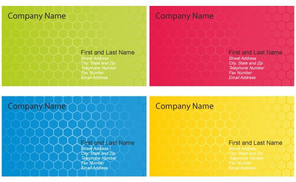 Business Card Design Templates Vector | Business Card Templates ...