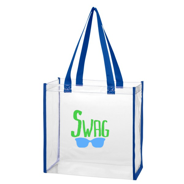 Clear Tote Bag in 2020 Clear tote bags, Tote bag, Bags