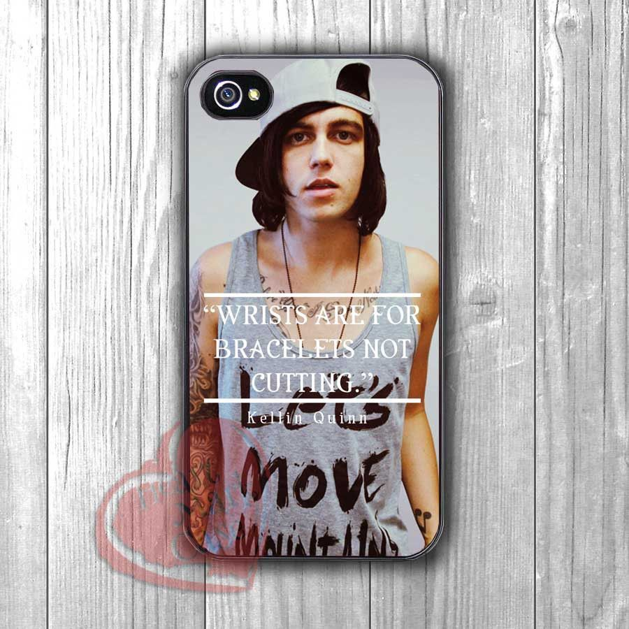 Kellin Quinn Quote -swwd for iPhone 6S case, iPhone 5s case, iPhone 6 case, iPhone 4S, Samsung S6 Edge
