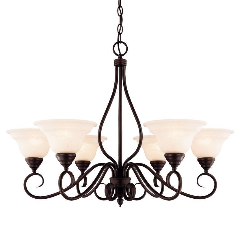 Savoy House Kp 104 6 Light Up Lighting Chandelier With Cream Faux Alabaster Gl English Bronze Indoor Chandeliers