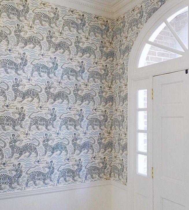 Clarence House 9985 3 Tibet Wallpaper Navy Tibet Wallpaper Navy Wallpaper Chinoiserie Wallpaper