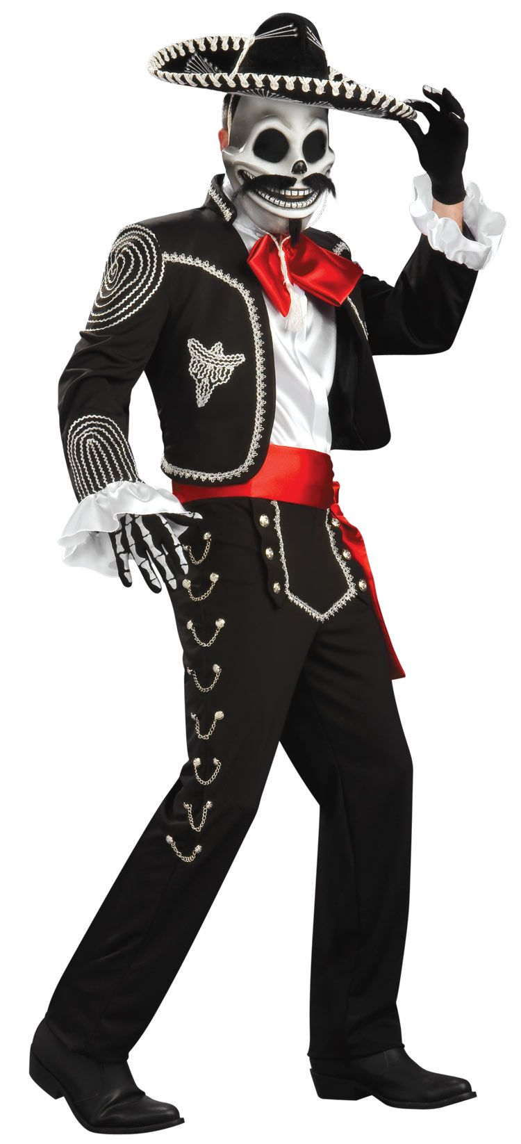 El Senor Adult Costume - Day of the Dead Costumes | Halloween ...