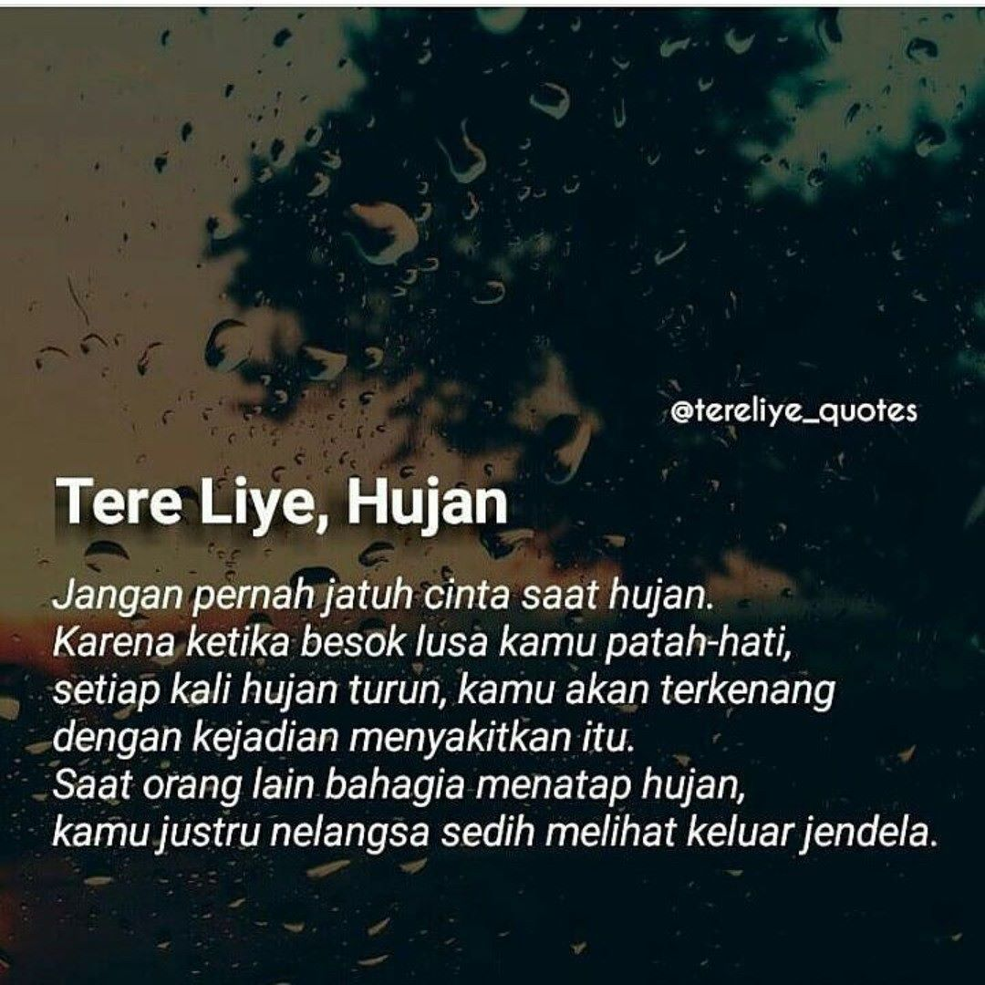 Image result for hujan tere liye