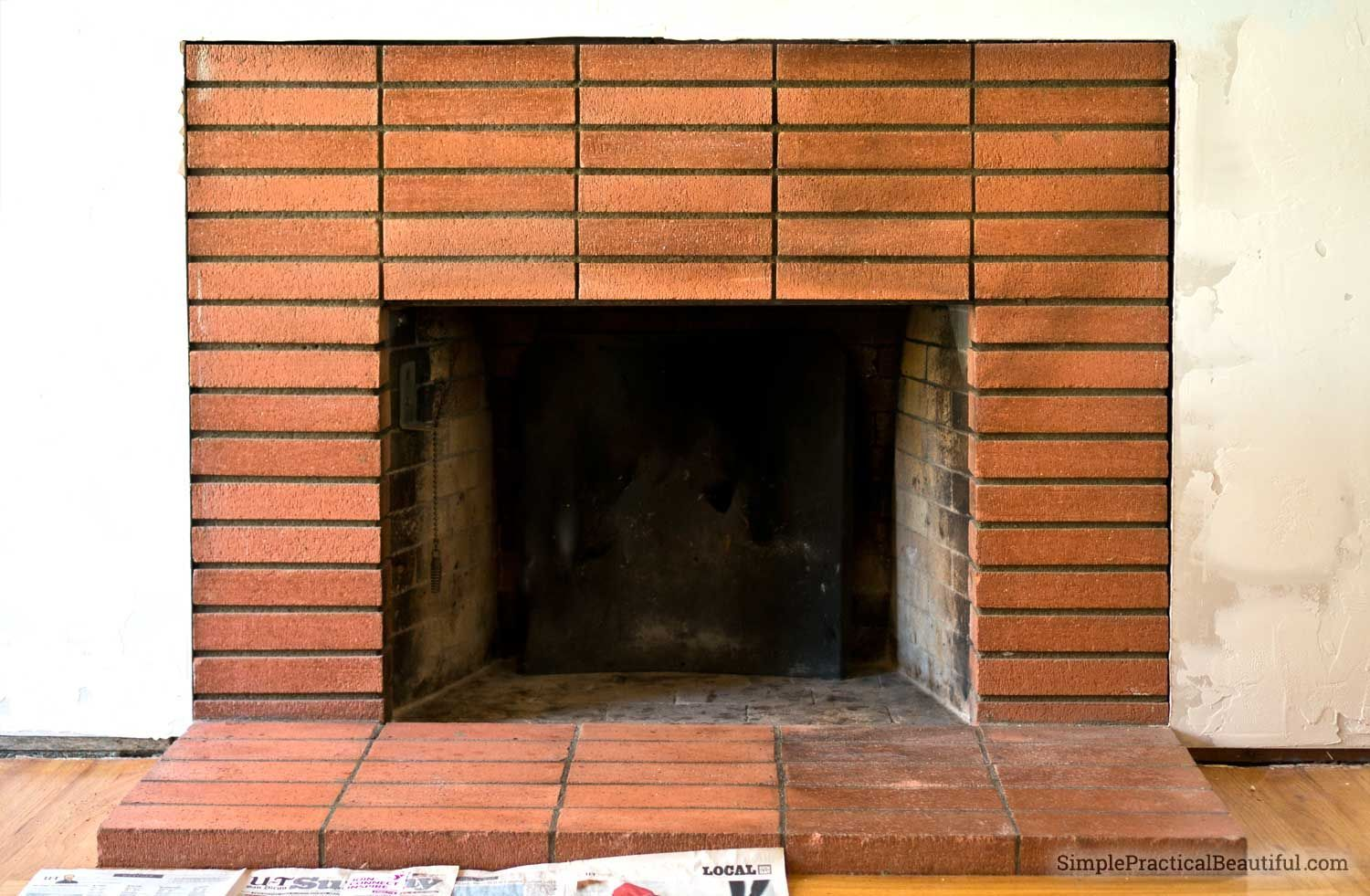 Cleaning Soot Ash And Smoke Off Fireplace Bricks Is Possible And Not Too Hard You Just Need The Right Cleaning Product