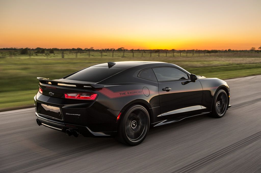 The Exorcist Hennessey S Answer To The Dodge Demon Camaro Zl1