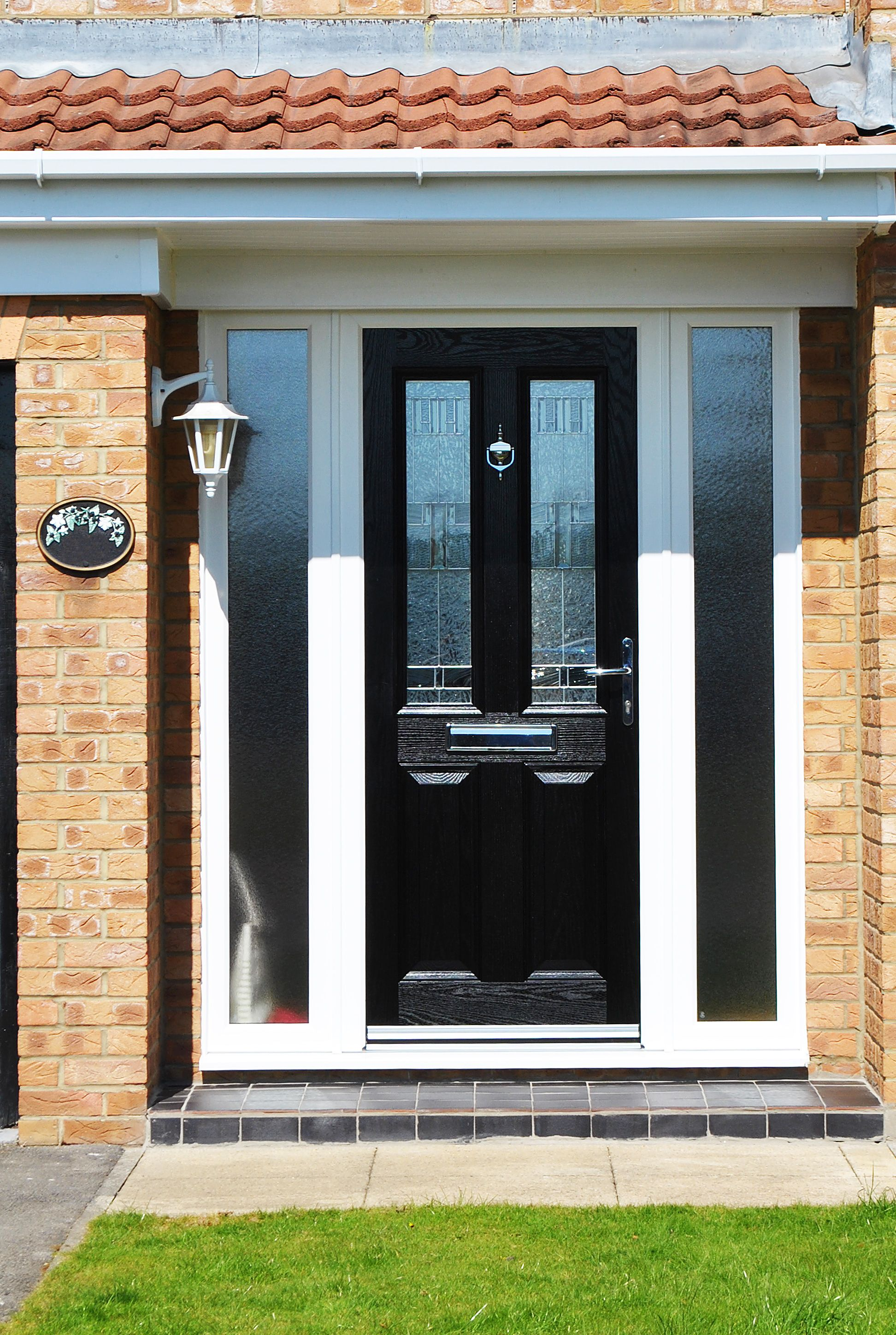 2896 #9D6B2E Black Composite Door Windows And Doors The Doors Front Doors  wallpaper Black Front Doors With Glass 43451944