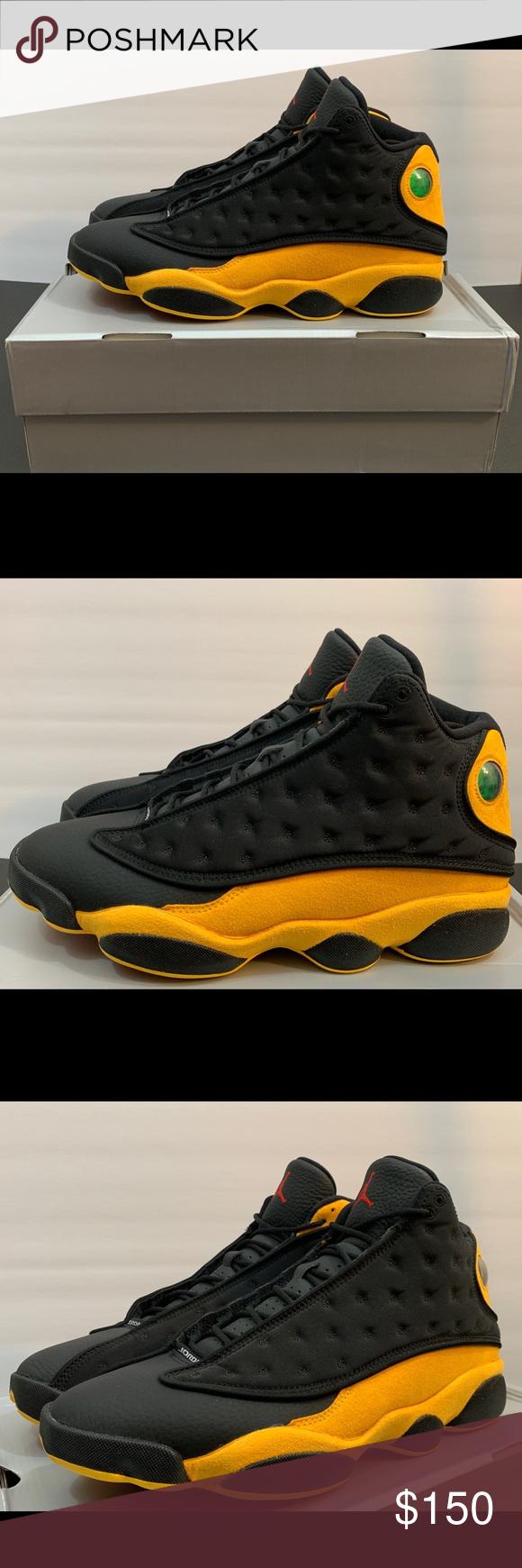 6e68e64c476 Air Jordan XIII 13 Retro Class 2002 Melo Size 11 Air Jordan XIII 13 Retro  Class 2002 Melo Black Yellow 414571-035 Men's Size 11 Jordan Shoes Sneakers
