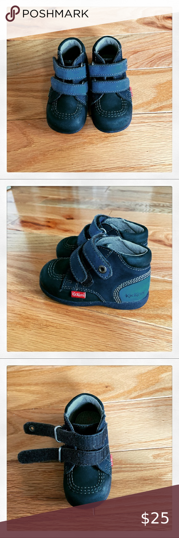 KICKERS Babyscratch first steps shoes