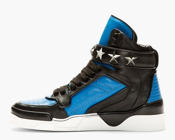 Givenchy High Top Star Ankle Strap Sneaker | Sneakers
