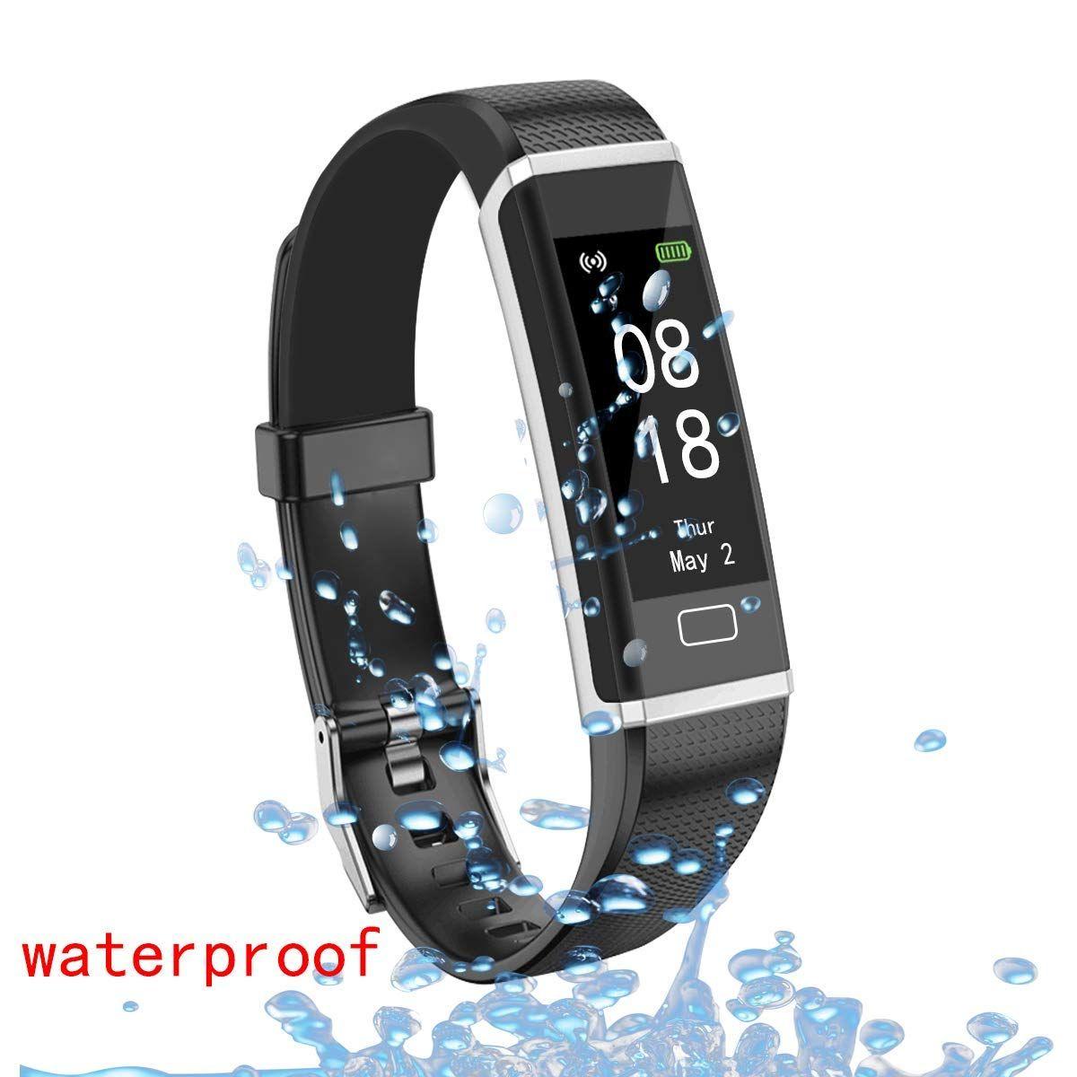 AOLEE Fitness Tracker HR Smart Sports Bracelet Wristband