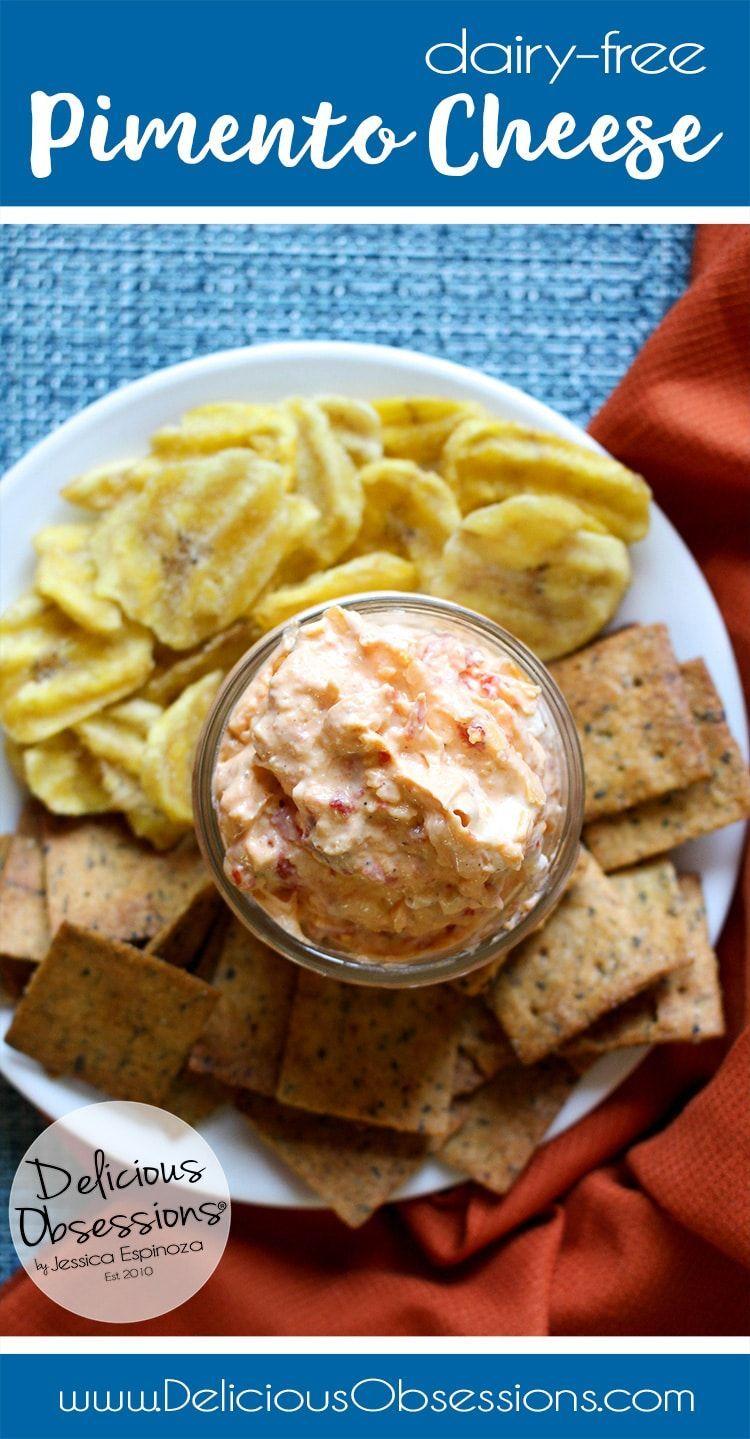5-Minute Dairy-Free Pimento Cheese -