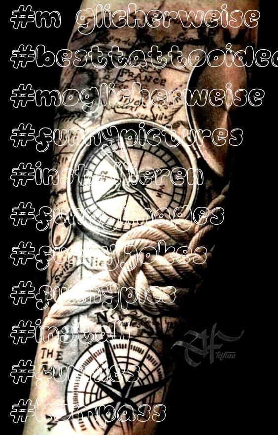 Installieren Sie den Kompass und das Seil  Seil funnies  diy best tattoo ideas  Möglicherweise Installieren Sie den Kompass und das Seil  Seil funnies Möglicher...