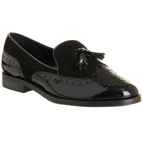 Office Vectra Brogue Loafer ($55) ❤ liked on Polyvore featuring shoes,  loafers,