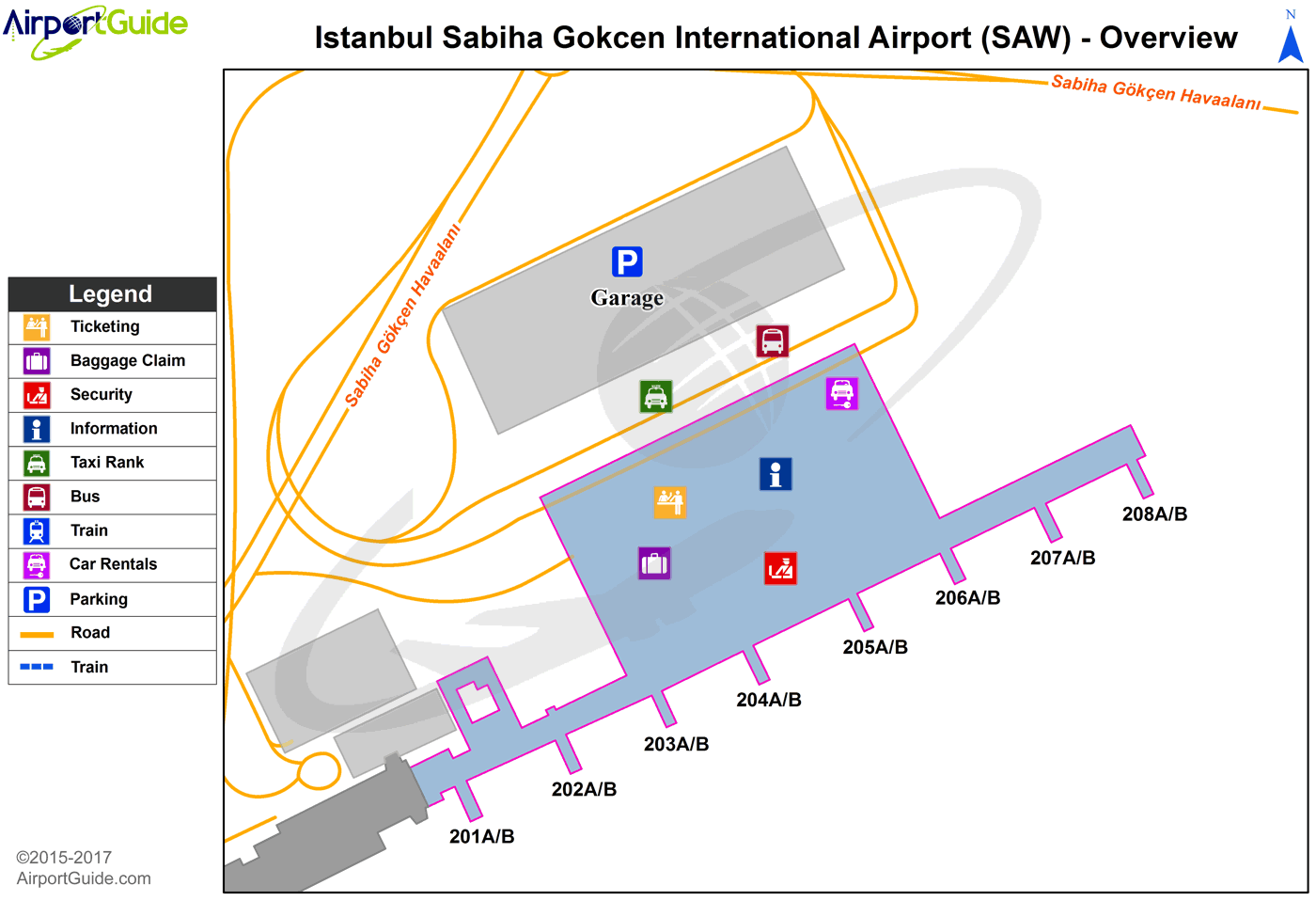 İstanbul Sabiha Gökçen International (SAW) Airport
